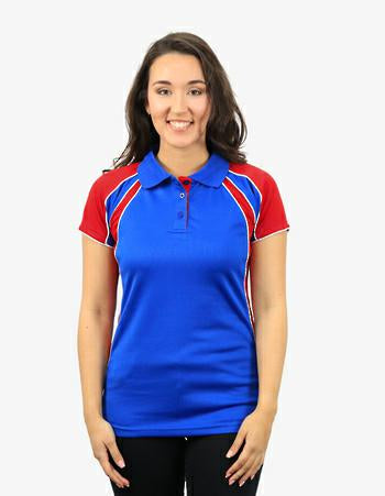 Be Seen THE CHAMELEON Ladies Micromesh Polo