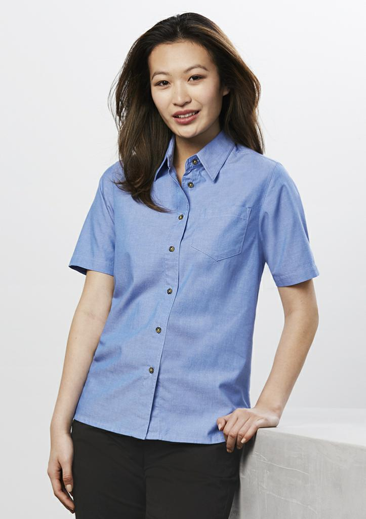 Biz Collection LB6200 Ladies Chambray S/S Shirt