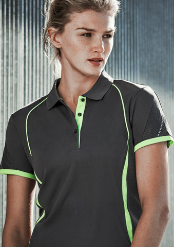 Biz-Collection P405LS Razor Ladies Sports Polo