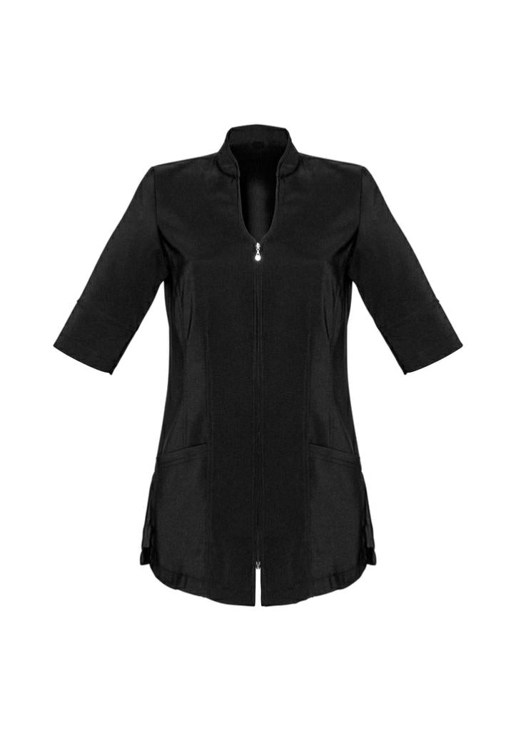 Biz Collection H632L Bliss Diamante Zip Tunic Top