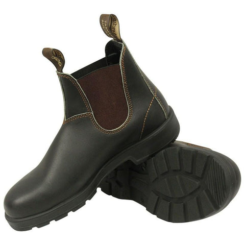 Blundstone 140 Brown Leather Elastci Sided Boot