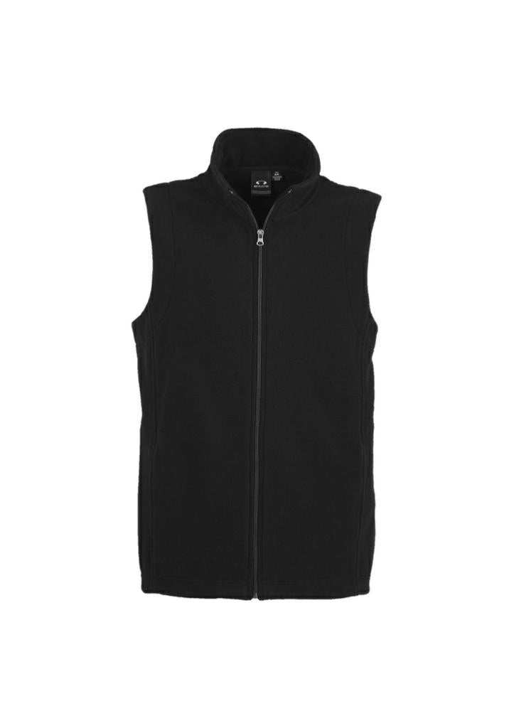 Biz Collection F233MN Mens Plain Micro Fleece Vest