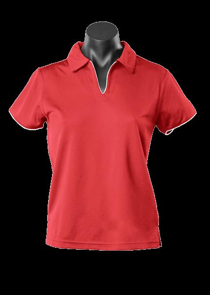 Aussie Pacific 2302 Ladies Yarra Driwear Polo