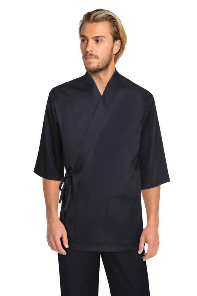 Chef Works Black Sushi Chef Jacket