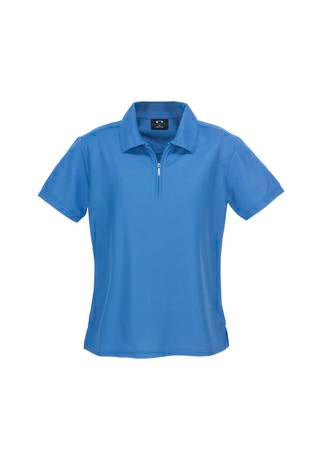 Biz-Collection P3325 Micro Waffle Ladies Polo