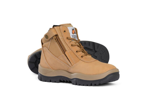 Mongrel Boots 961050 Wheat Zip Sided Non-Safety