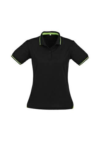Biz Collection P226LS Jet Ladies Polo