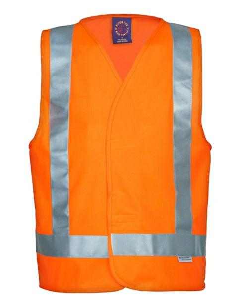 Ritemate RM4245T Hi-Vis Vest With Reflective Tape