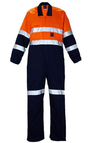RiteMate RN908CR 2 tone coverall w/3M 8910 tape