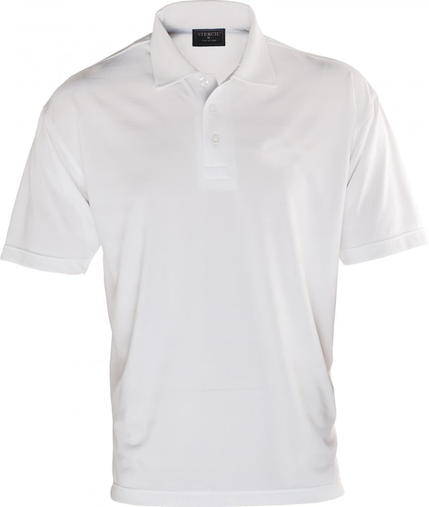 Stencil 1053 Mens Ice Cool Short Sleeve Polo