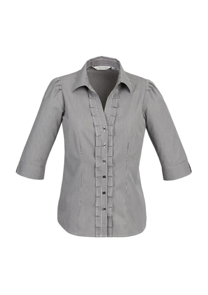 Biz Collection S267LT Ladies Edge 3/4 Sleeve Shirt