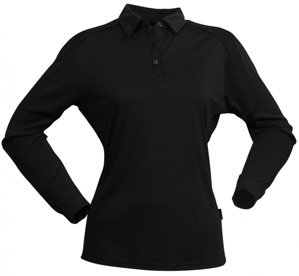 Stencil 1143 Womens Long Sleeve Freshen Polo
