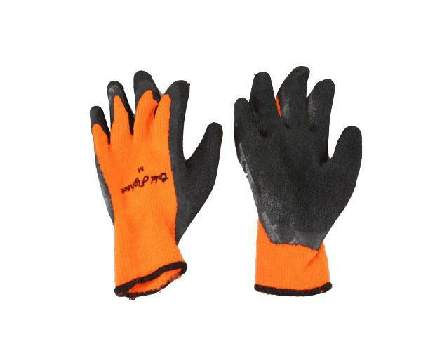 Cold Fighter Freezer Latex Palm Gloves