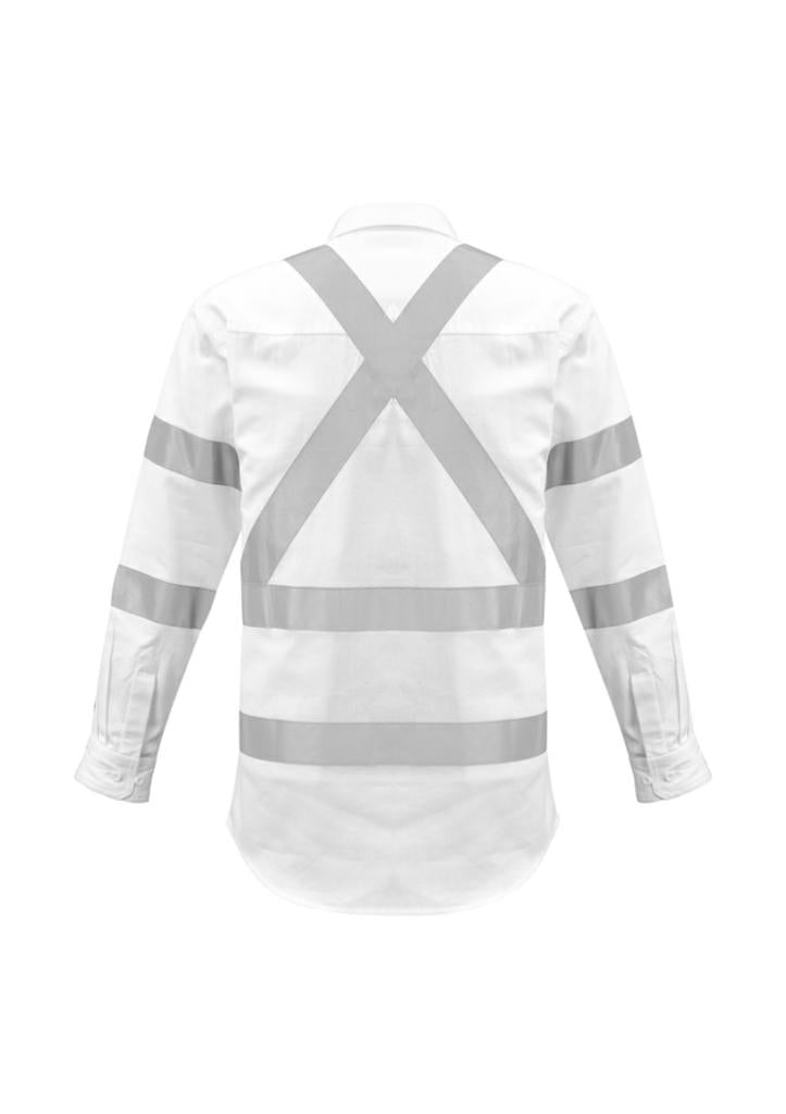 Syzmik Mens Bio Motion X Back Taped Shirt ZW621