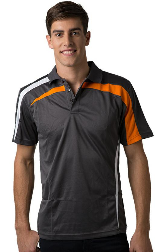 BeSeen BSP2014 Mens Cooldry Polo