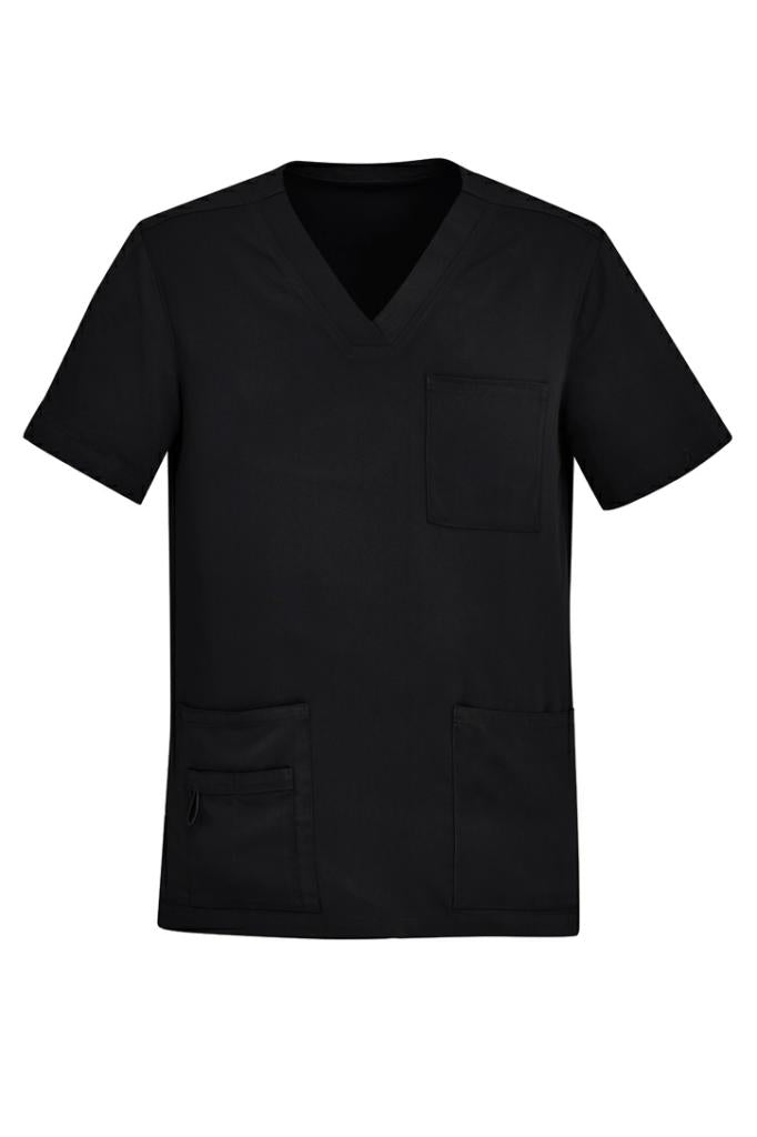Biz Care CST945MS Mens V-Neck Scrub Top