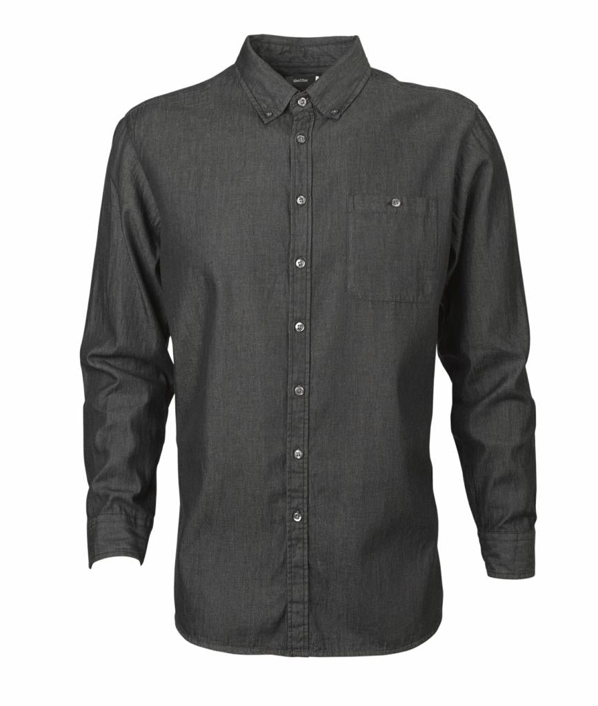 Identitee W48 Mens Dylan Long Sleeve Denim Shirt