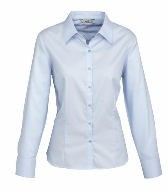 Biz Collection S118LL Ladies Luxe L/S Shirt