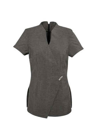 Biz Collection H630L Spa Wrap Style Tunic Top