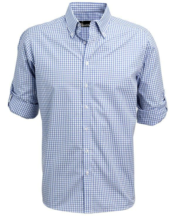 Identitee W46 Miller Mens Short Sleeve Check