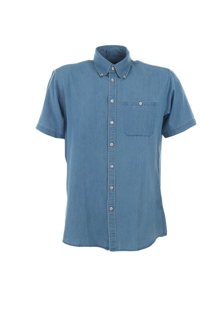 Identitee W49 Mens Dylan S/S Denim Shirt