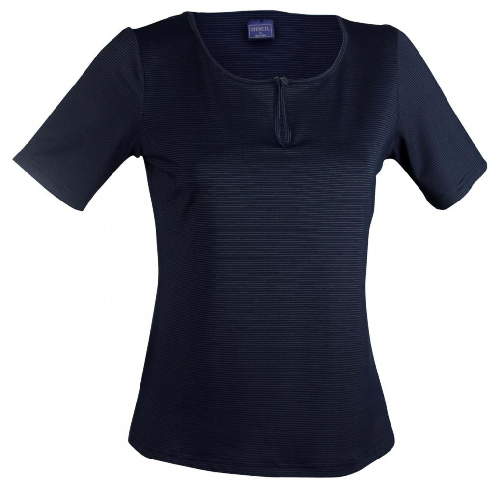 Stencil 1258S Ladies Silvertech Short Sleeve Top