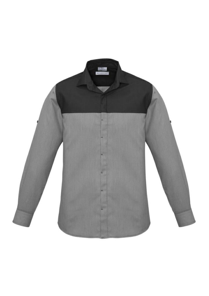 Biz Collection Mens Havana L/S Shirt S503ML