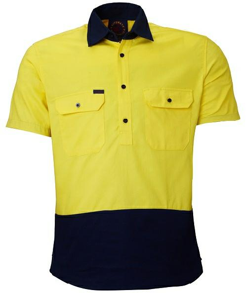 RiteMate RM105CFS Two Tone Short Sleeve