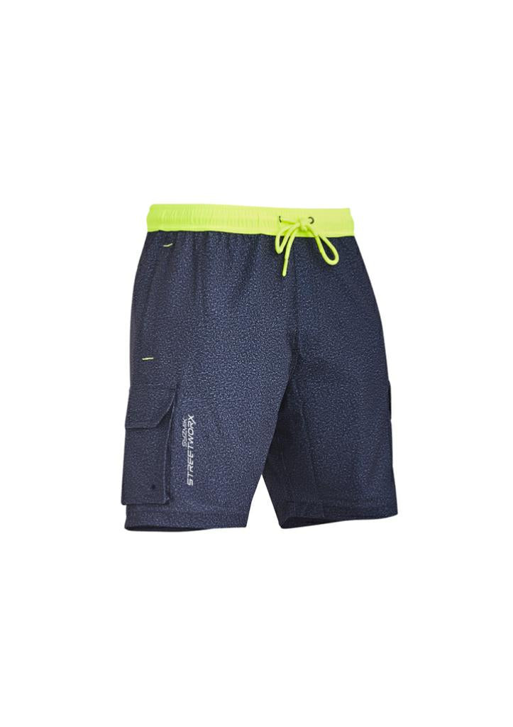 Syzmik ZS240 Men's Streetworx Stretch Board Short
