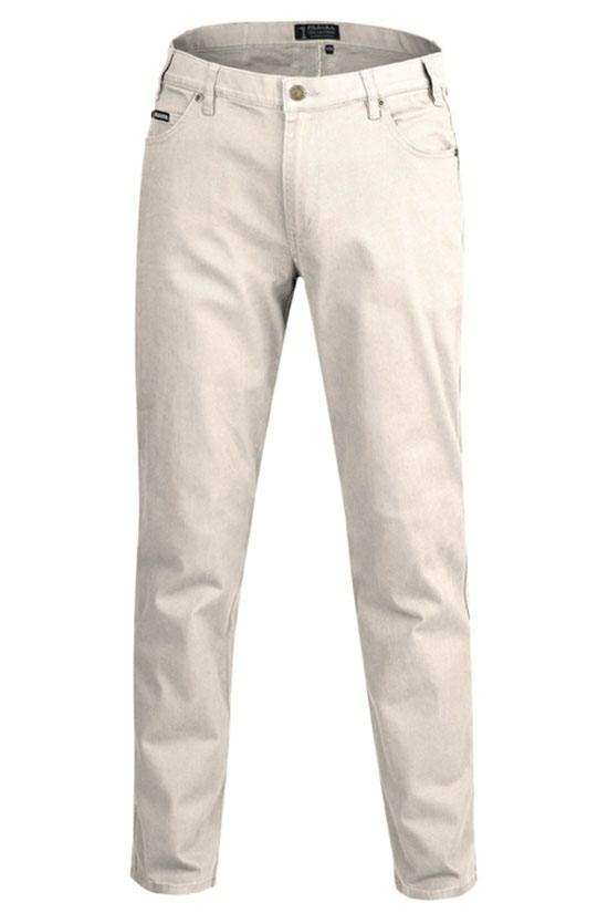 Pilbara RMPC014 Men's Cotton Stretch Jeans - Long