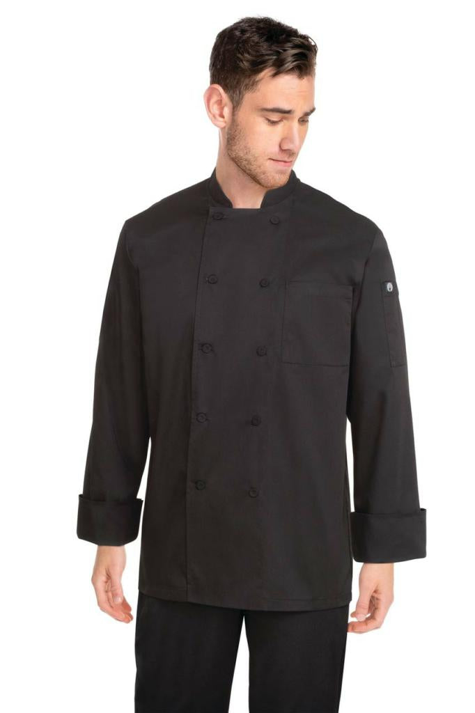 Chef Works Calgary Cool Vent Mens L/S Chef Jacket