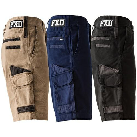 FXD Shorts WS3 Mens 360 Degree Stretch Work Shorts