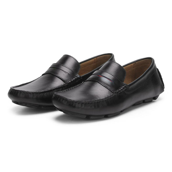 Beech: Black Loafer