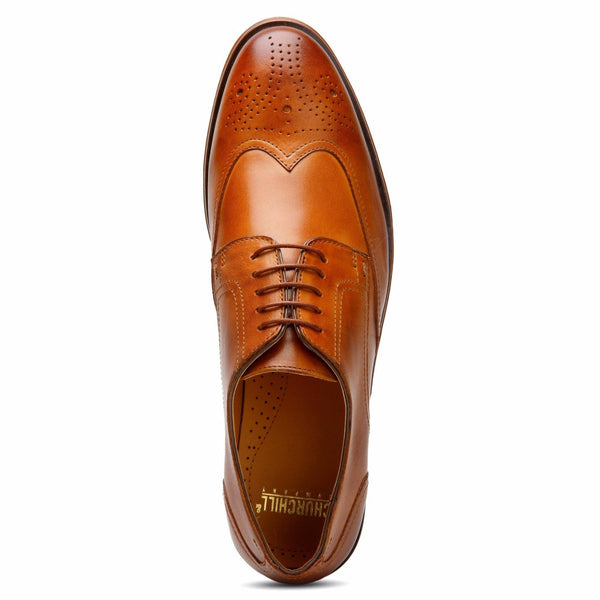 Tan Wingtip Derby | Buy shoes online
