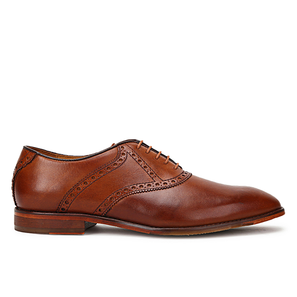 Golf: Tan Saddle Oxford