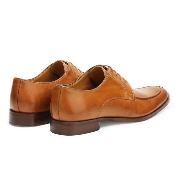 Allen: Tan Lace Up Derby