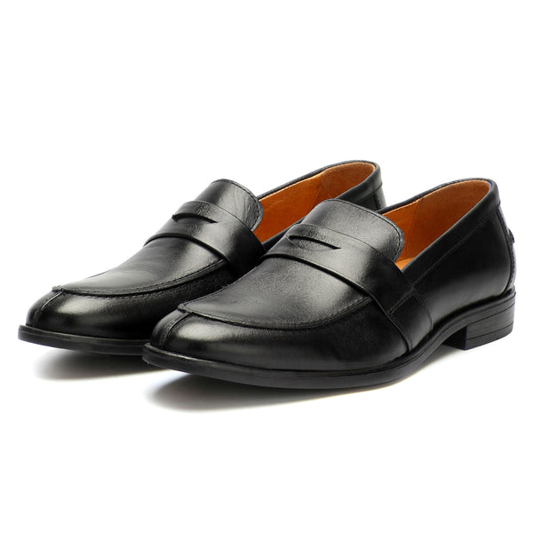 Chester: Black Slip-On