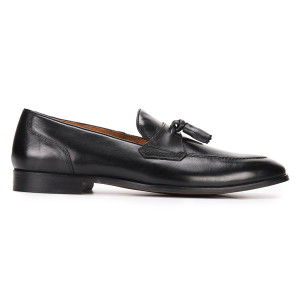Furley: Black Belgian Loafer