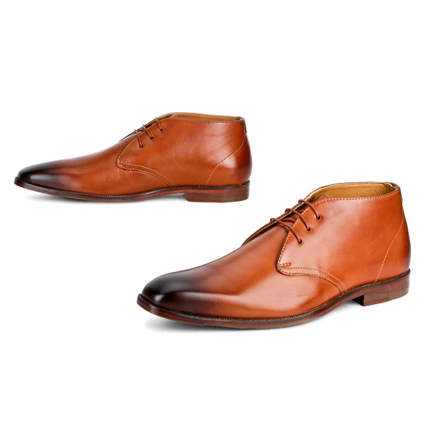 Tuffin: Tan Chukka Boot