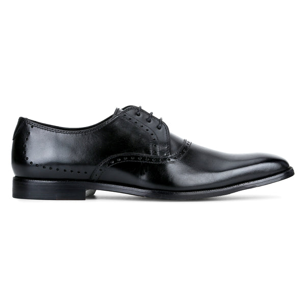 Ferry : Black Lace Up Derby