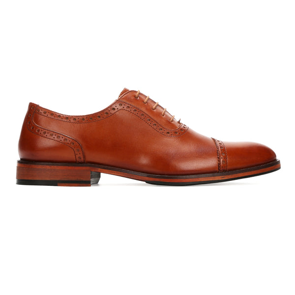 Thomas: Tan Brogue Oxford