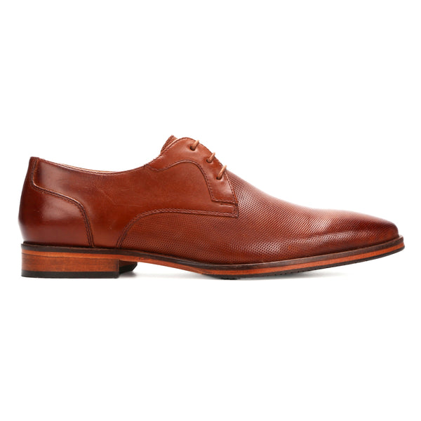 Mason: Tan Textured Derby