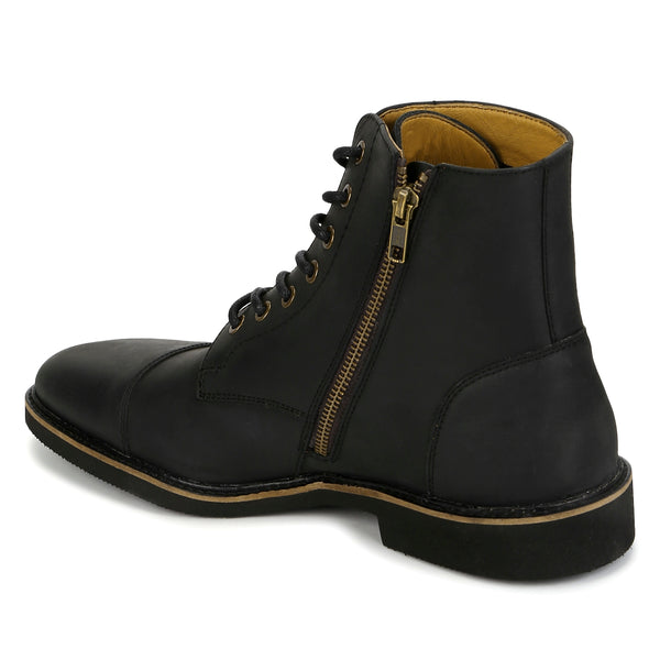 Maverick: Black Matte Boot