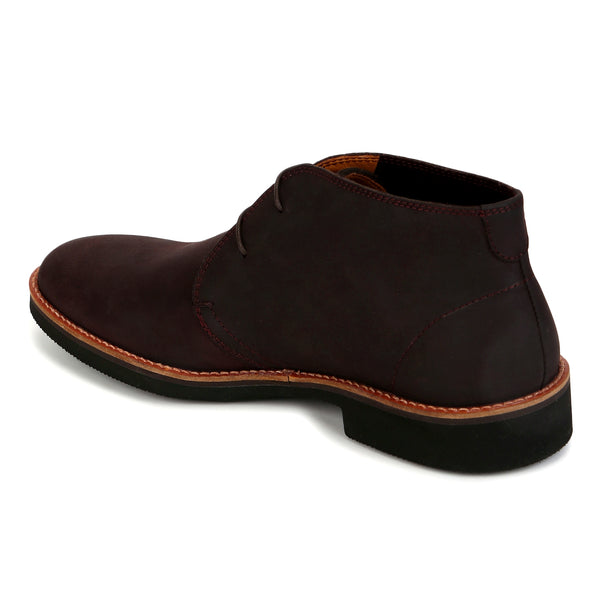 Merlin: Brown Nubuck Chukka Boot