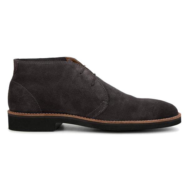 Merlin: Grey Suede Chukka Boot