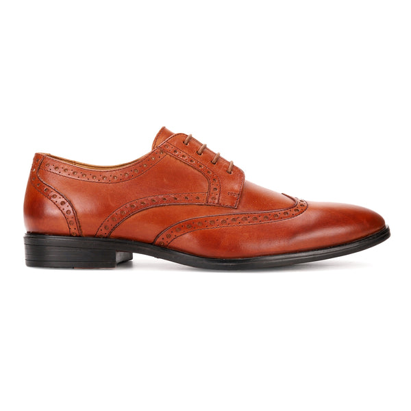 Cedar: Tan Wingtip Derby
