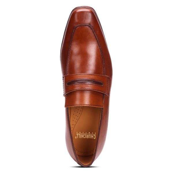 Edison: Tan Slip-On