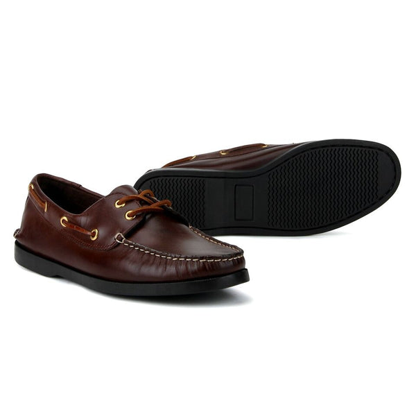 Friday: Brown Boat Shoe