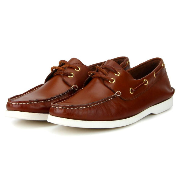 Friday: Tan Boat Shoe
