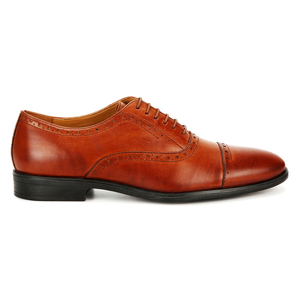 Cooper: Tan Brogue Oxford